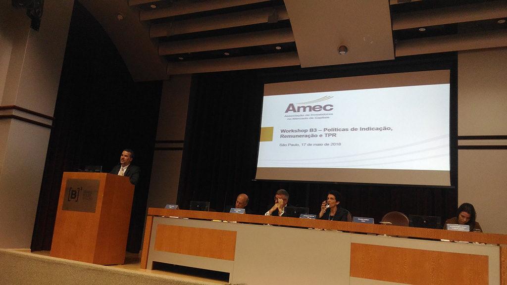 Apresentação do presidente Mauro Cunha em workshop sobre as novas regras do Novo Mercado
